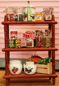 Open air pantry.