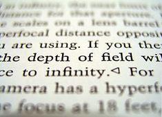 Scherptediepte is het gebied in de object ruimte (de dingen die je fotografeert) waarbinnen de afbeelding op de foto scherp genoemd wordt.