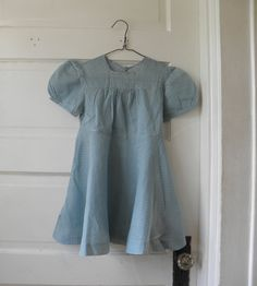 1930s Dotted Swiss Little Girl's Dress by LilliaMeadow on Etsy