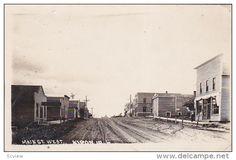 RP; Main Street West, Kiron, Iowa, PU-1915