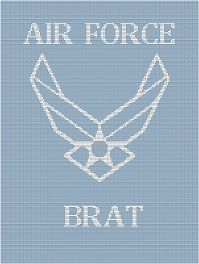 proud air force brat!