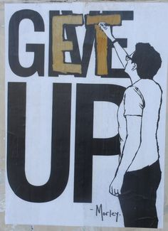 Get up, don't give up