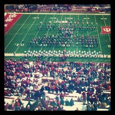 A perfect fall day. #iuhomecoming #iufb #indianauniversity #iu #hoosiers #football #fall