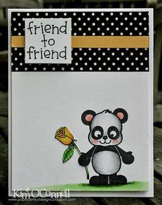 """Dandelion Designs! """"Friend to Friend"""" stamp set."""