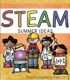 STEAM (Science, Technology, Engineering, Art, and Math) Activities for Kids to do during the Summer