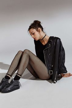 s p r n 1 3 rad . black . fishnets . vans . leather