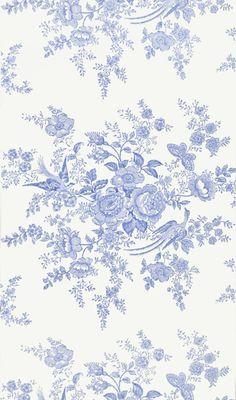 Tapet 22540: Vintage Dauphine Porcelain från Ralph Lauren - Tapetorama