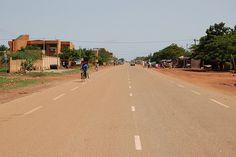 Been (and would like to go back)-Street in Ouagadougou, Burkina Faso