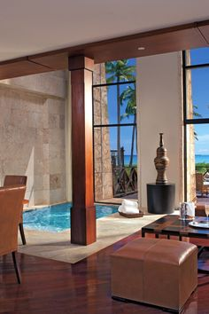 In the adults-only Fortress area of the resort, Imperial Suites have a contemporary look. Designed in three sections — Spanish Colonial, Caribbean Villas and the Castle — Sanctuary Cap Cana by Alsol has the feel of an exclusive small town. #Jetsetter