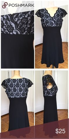 "NWOT east5th Lace adorned midi dress Nor east5th lace adorned midi dress size 12P. Polyester and nylon. The is modeled on a size small mannequin and will be a fitted dress when worn. Bust approx 19"" length 40"". East 5th Dresses Midi"