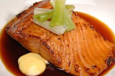 Slow Cooker Maple Salmon - Tender and Full of flavor! YUM! www.GetCrocked.com