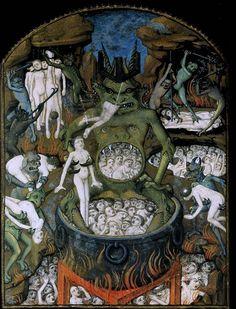 Hell%2C+illustration+from+St.+Augustine%E2%80%99s+manuscript+De+civitate+Dei+libri+XXII+%28The+city+of+God%29%2C+412-426.jpg (648×850)