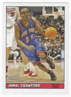 Jamal Crawford # 42 - 2005-06 Topps Baz Basketball