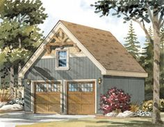 Detached garage design pictures remodel decor and ideas for Engineered garage plans