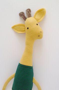 giraffe friend :: finkelstein's center handmade creature