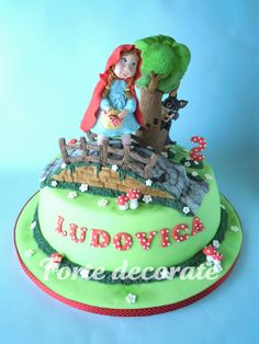 Le torte decorate di Beatrice: Cappuccetto Rosso - Little Red Riding Hood cake
