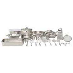 Masterclass Stainless Steel 30 Piece Cookware Set