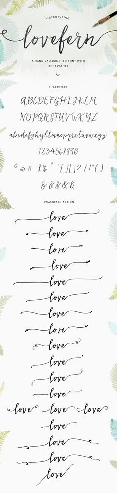 Pretty Modern Calligraphy Swash Font Design by Angie Makes. This would be great for so many graphic design projects. Cant you see this font on wedding invitations, blogs, logos, galore. YES!