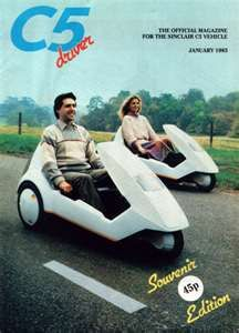 sinclair c5...you still see the odd eccentric being pushed into the gutter on a busy road...battery hen powered and as reliable as a zx81 16k ram pack....yesssss