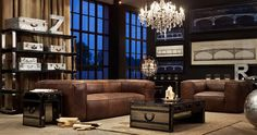 Great Timothy Oulton room
