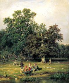 Shishkin Ivan - For the mushroom. 200 Russian painters • download painting • Gallerix.ru