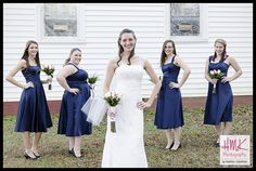 Bridal Party Shot  www.hmkphotography.com