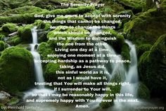 The Serenity Prayer by Reinhold Niebuhr - Our Father Prayer Reinhold Niebuhr, Our Father Prayer, Prayer For Guidance, Everyday Prayers, Beautiful Prayers, Serenity Prayer, One Moment, Grandkids, Christianity