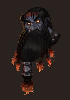 Commission for a World of Warcraft dark iron dwarf blacksmith. World Of Warcraft Characters, Dnd Characters, Fantasy Characters, Character Concept, Character Art, Concept Art, Character Ideas, Fantasy Dwarf, Fantasy Rpg