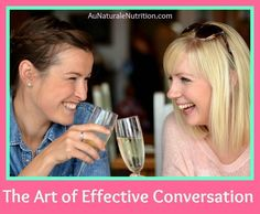 Christmas is near! Get along with your family members with these helpful tips. Effective listening and asking the right questions helps us to get to know others better and enriches our lives. Here are a few tips to improve your communication skills and enrich your interactions with others.  By Jenny at www.AuNaturaleNutrition.com