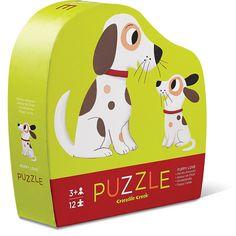 Crocodile Creek 12-Piece Puzzle Puppy Love