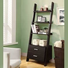 Monarch High Ladder Bookcase -