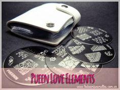 Pueen Love Elements: placas de stamping