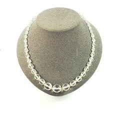streitstones exklusive Kette mit facettierten Glasperlen in kristall bis zu 50 % Rabatt streitstones http://www.amazon.de/dp/B00T6S35NG/ref=cm_sw_r_pi_dp_J1X6ub16EBD05, streitstones, Halskette, Halsketten, Kette, Ketten, neclace, bling, silver, gold, silber, Schmuck, jewelry, swarovski, fashion, accessoires, glas, glass, beads, rhinestones