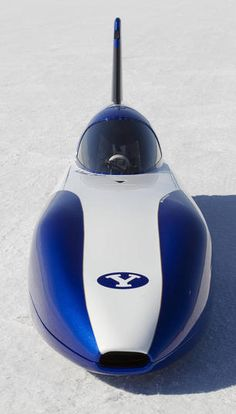 The new E1 Class electric-car land speed record holder (155.5 mph) - engineered by undergrads at Brigham Young University.