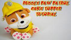 Paw Patrol (Cake Topper): Marshall /Patrulla de cachorros: Cómo hacer a Marshall - YouTube
