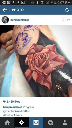 Nice rose tattoos