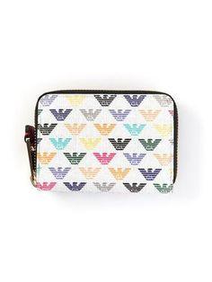 EMPORIO ARMANI logo wallet #accessories #armani #giorgioarmani #designer #covetme #emporioarmani