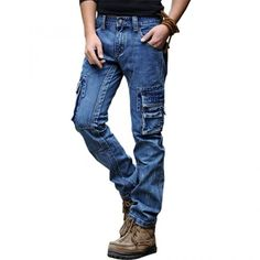 The Difference Between Regular Jeans and Cargo Jeans Visit: menpant.com/the-difference-between-regular-jeans-and-cargo-jeans/ Cargo Jeans is, simply put, like regular jeans. They're a good alternative for people who just don't have the time or desire to change their casual pants into something that's dressier. #MenPant #Men #Pant #Mens #Men's #Pants #Australia #Albama #Atlanta #Canada #California #Dallas #England #France #Florida #Germany #Georgia #NewYork #Netherland #Oklahoma #Ohio…
