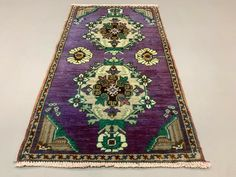 Selection of narrow and long kilim runners and Turkish. We have a wide range of runners, please email us if you are looking for an especially long or narrow runner. Rugs On Carpet, Carpets, Purple Home Decor, Shabby Chic Antiques, Kilim Runner, Tribal Rug, Vintage Wool, Victorian Homes, Vintage Decor