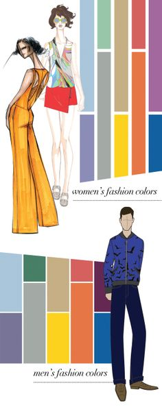 Spring 2014 Pantones for Women & Men | The House of Beccaria
