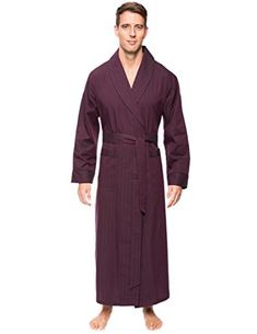 8af6d977d1 Noble Mount Mens Premium 100% Cotton Full-Length Robe Review
