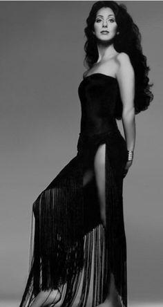 Cher photographed by Richard Avedon, Vogue Magazine June 1974