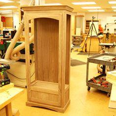 Gun cabinet woodworking plans, Gun Cabinets Free woodworking plans ...