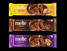 Melt'e Chocolate Packaging by Mohannad zorba, via Behance