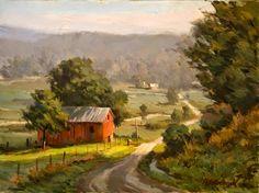 John Pototschnik, 1946 ~ Plein air painter | Tutt'Art@ | Pittura * Scultura * Poesia * Musica |