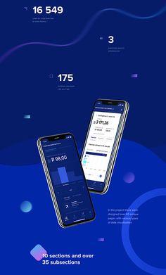 LKR Finance App & Dashboard - App Templates - Ideas of App Templates - LKR Finance App & Dashboard on Behance Web Design, Website Design Layout, App Ui Design, Mobile App Design, Slide Design, Mobile Ui, Design Ideas, Graphic Design, Dashboard App