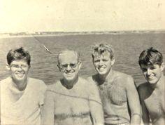 "Joseph Patrick ""Joe"" Kennedy, Sr. (September 6, 1888 – November 18, 1969) With His Sons  John F. Kennedy ,Robert F. Kennedy And Edward Moore ""Ted"" Kennedy   http://en.wikipedia.org/wiki/Joseph_P._Kennedy,_Sr. http://en.wikipedia.org/wiki/John_F._Kennedy  http://en.wikipedia.org/wiki/Robert_F._Kennedy   http://en.wikipedia.org/wiki/Ted_Kennedy"