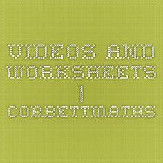Videos and Worksheets | Corbettmaths