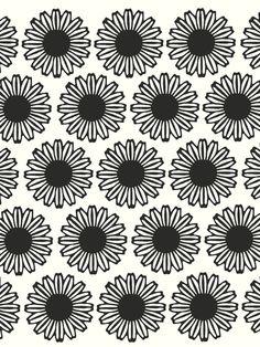 Vintage Flower_Black1 - Art Print by Garima Dhawan/Society6
