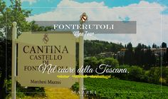 In the heart of Tuscany. For reservations for large groups contact our Enoteca at enoteca@fonterutoli.it @marchesimazzei #winetour #MarchesiMazzei #Fonteurutoli